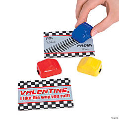 Valentine Cards with Cars