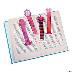 Valentine Character Ruler Bookmarks