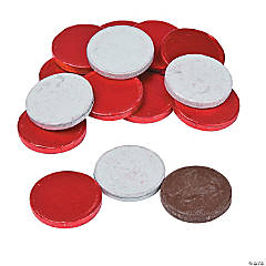 Valentine Chocolate Coins