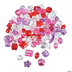 Valentine Crystal Beads