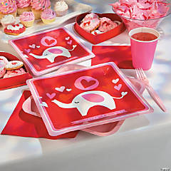 Valentine Elephant Party Supplies