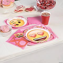 Valentine Emoji Party Supplies
