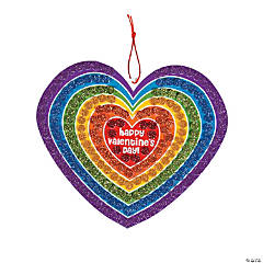 Valentine Glitter Mosaic Sign Craft Kit