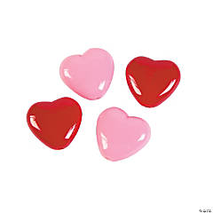 Valentine Heart Beads - 18mm