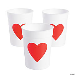 Valentine Heart Cups
