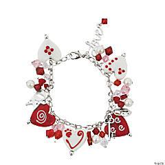 Valentine Hearts Bracelet Idea