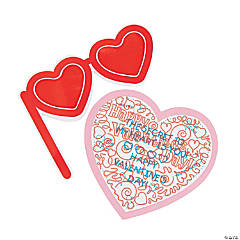 Valentine Hidden Message Craft Kit