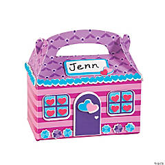 Valentine House Treat Box Craft Kit