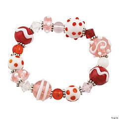 Valentine Lampwork Bracelet Idea