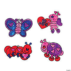 Valentine Love Bug Suncatchers
