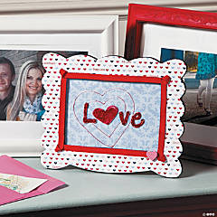 Valentine Love Frame Idea
