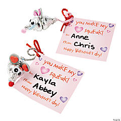 Valentine Mouse Candy Craft Kit
