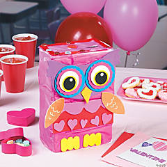 Valentine Owl Card Box Idea