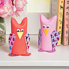 Valentine Owl Craft Roll Idea