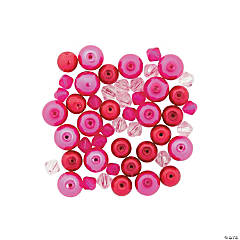Valentine Pearl & Crystal Bead Assortment