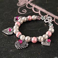 Valentine Pearl Bracelet Idea