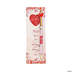 Valentine Pen & Bookmark Sets