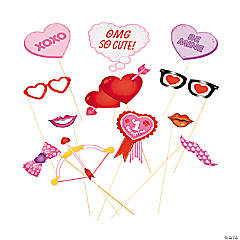 Valentine Photo Stick Props