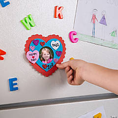 Valentine Picture Frame Magnet Craft KIt