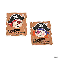 Valentine Pirate Magnet Craft Kit