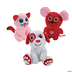 valentines day anime stuffed animals - Valentines Animals