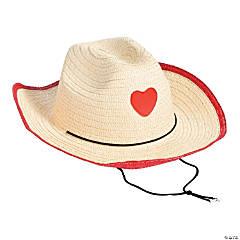 Valentine's Day Cowboy Hats