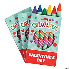 Valentine's Day Jumbo Crayons