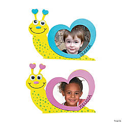 Valentine Snail Picture Frame Craft Kit
