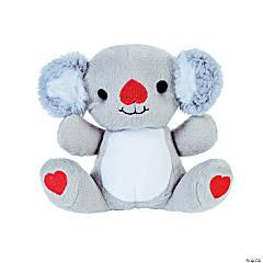 Valentine Stuffed Koalas