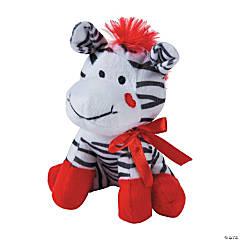 Valentine Stuffed Zebras