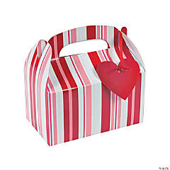 Valentine Treat Boxes with Tags