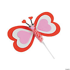 Valentine Twisty Pop Butterfly Craft Kit