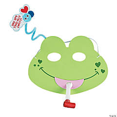 Valentine's Day Frog Mask Craft Kit