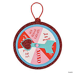 Valentine's Day Wheel Ornament Craft Kit