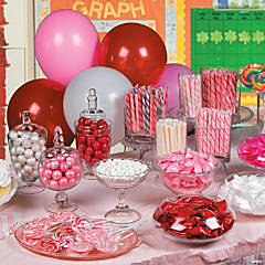 Valentine's Day Candy Buffet