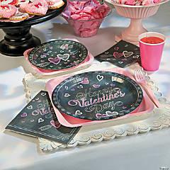Valentine's Day Chalkboard Party Supplies