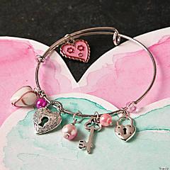 Valentine's Day Charm Bracelet Idea