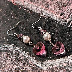 Valentine's Day Heart Earrings Idea