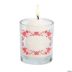 Valentine's Day Votive Stickers