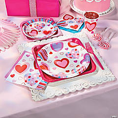 Valentine's Heart Party Supplies