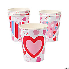 Valentine's Hearts Cups