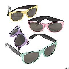 Value Metallic Sunglasses