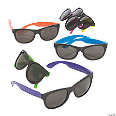 Value Neon Sunglasses