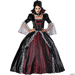 Vampiress Of Versailles Adult Women's Costume