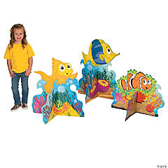 VBS 3D Tropical Fish Cardboard Stand-Ups