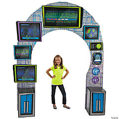 VBS Agents of Truth Archway Cardboard Stand-Up