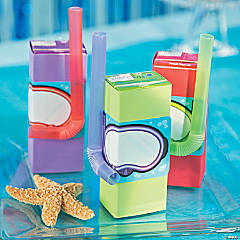 VBS Under the Sea Scuba Diver Juice Box Snack Idea