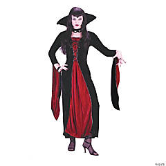 Velour Vampress Adult Women's Costume