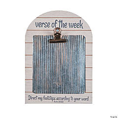 Verse of the Week Clipboard Sign