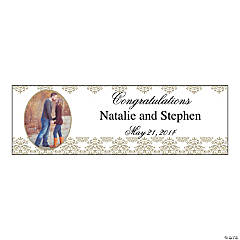 Victorian Small Custom Photo Banner
